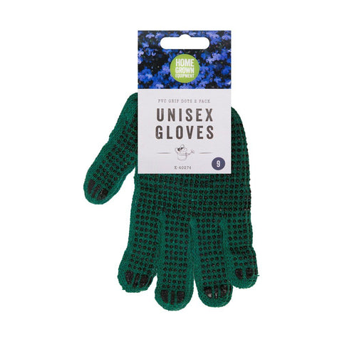 Unisex Gardening Gloves with PVC Dots
