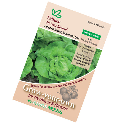 Lettuce All Year Round Seeds