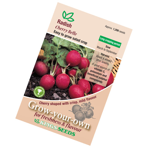 Radish Cherry Belle Rhs Agm Seeds