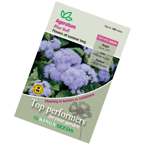 Ageratum Blue Ball Seeds