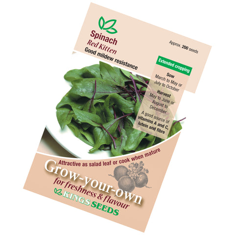 Spinach Red Vein Seeds