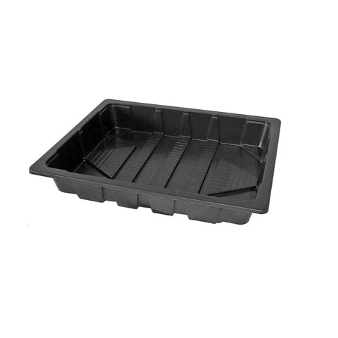 Lightweight shallow half seed trays with no holes