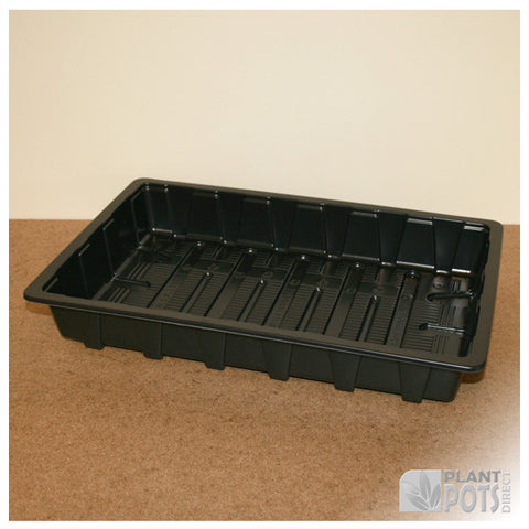Heavyweight full seed tray (no holes)