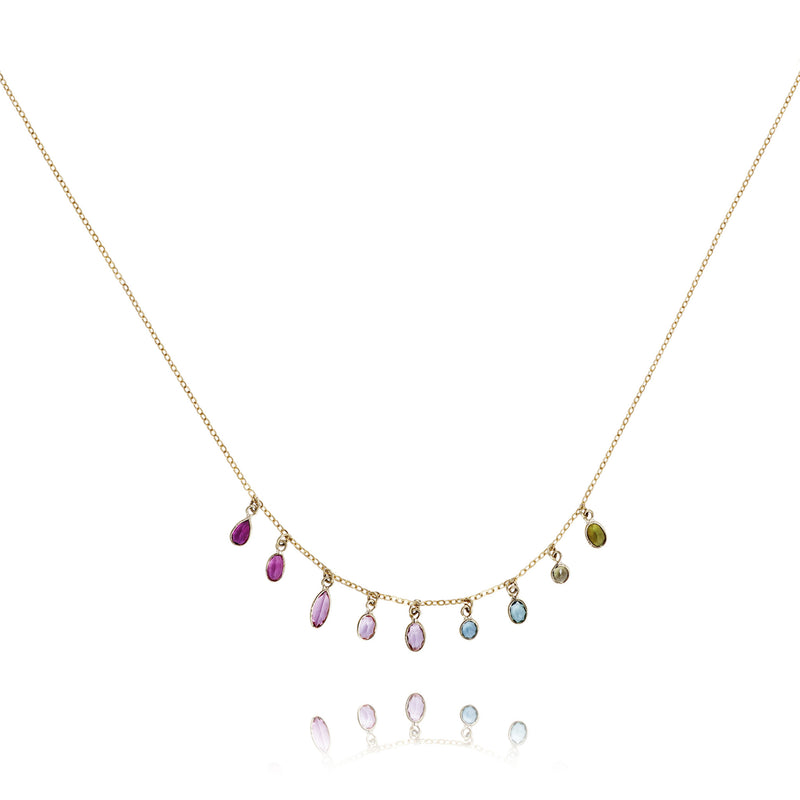 Tourmaline Drop Necklace