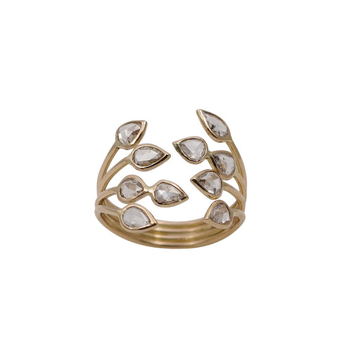 Diamond Rose Cut Ring