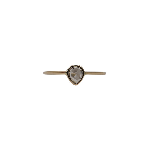 Diamond Rose 0.22ct 18kt Gold Ring