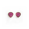 Tourmaline Gold Stud Earrings