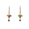 Sapphire 18kt Gold Earrings