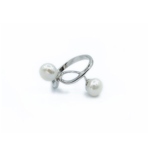 Pearl & Silver Ring
