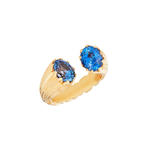 Sapphire 5.5 Carats & 22kt Gold Ring