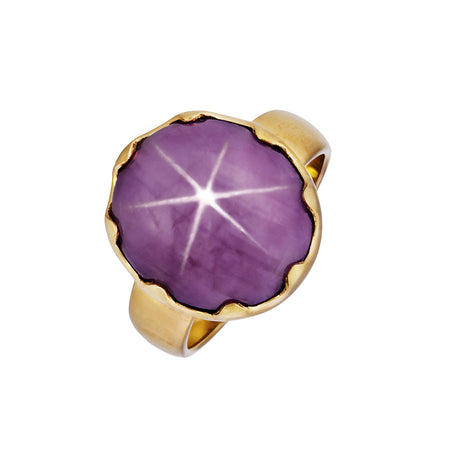 Gold & Silver Star Ring