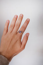 Tanzanite Silver Wrap Ring