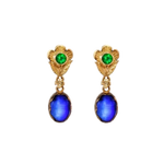Kyanite & Tsavorite Earrings