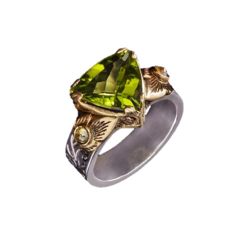 Peridot Dress Ring