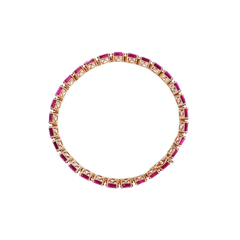 Ruby Eternity Bracelet