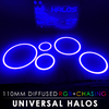 110MM Diffused RGB Chasing Starry Night Halos