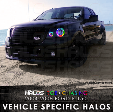 2004-2008 Ford F-150 RGB Chasing Starry Night Halo Kit