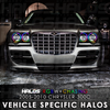2005-2010 Chrysler 300C RGBW + Chasing Starry Night Halo Kit (4 Halos)