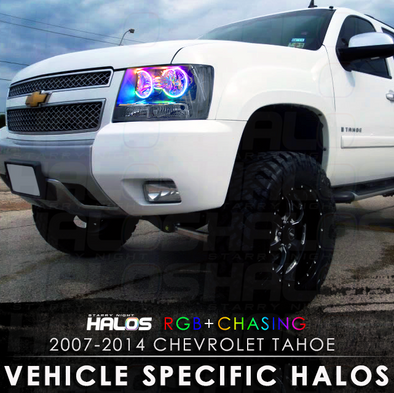 2007-2014 Chevrolet Tahoe RGB Chasing Starry Night Halos