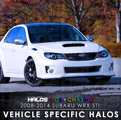 2008-2014 Subaru WRX STi RGB Chasing Starry Night Halo Kit