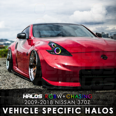 2009-2018 Nissan 370z RGBW Chasing Starry Night Halo Kit