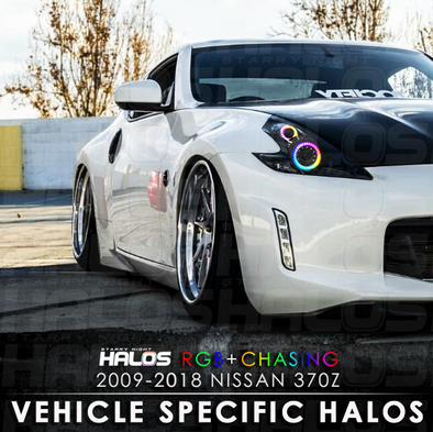 2009-2018 Nissan 370z RGB Chasing Starry Night Halo Kit