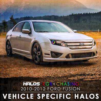 2010-2012 Ford Fusion RGB Chasing Starry Night Halo Kit