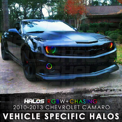 2010-2013 Chevrolet Camaro RGBW Chasing Starry Night Halo Kit