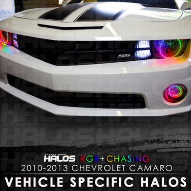 2010-2013 Chevrolet Camaro RGB Chasing Starry Night Halo Kit