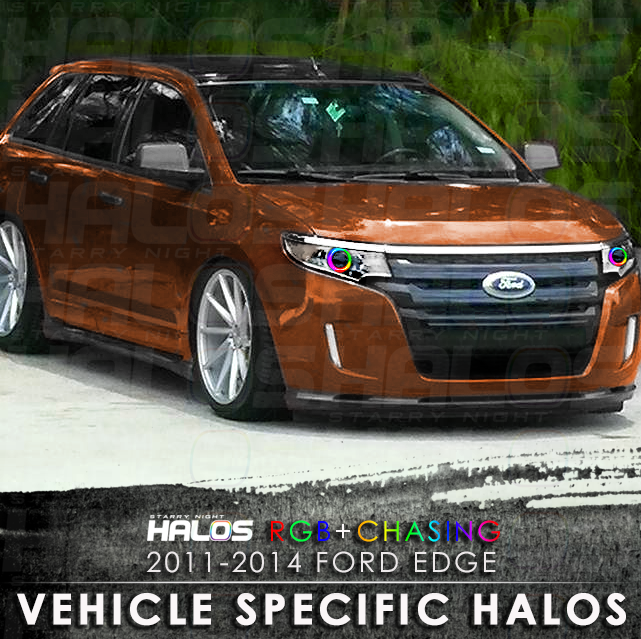 Ford Edge Rgbchasing Starry Night Halo Kit Pair Starry Night Halos
