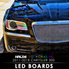 2011-2018 Chrysler 300 RGB Chasing Starry Night Halos LED Boards