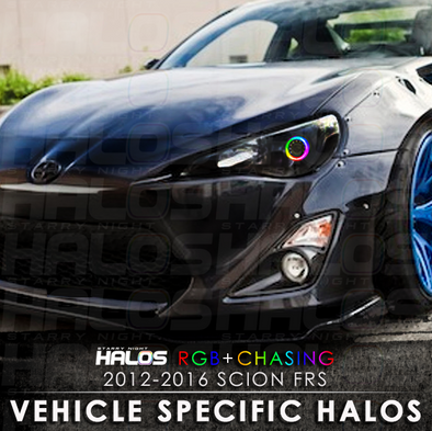 2012-2016 Scion FRS RGB Chasing Starry Night Halo Kit