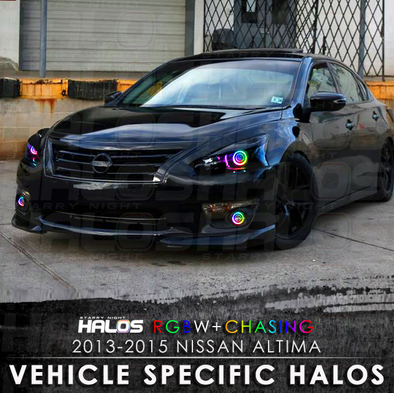 2013-2015 Nissan Altima RGBW Chasing Starry Night Halo Kit