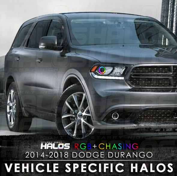 2014-2018 Dodge Durango RGB Chasing Starry Night Halo Kit