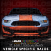 2015-2017 Ford Mustang RGBA Chasing Switchback Sequential Starry Night Halo Kit