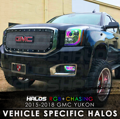 2015-2018 GMC Yukon RGB Chasing Starry Night Halo Kit