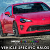 2017+ Toyota 86 RGB Chasing Starry Night Halo Kit