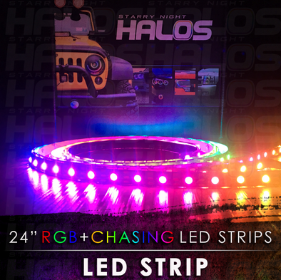 Starry Night Halos RGB Chasing LED Strip