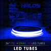 36 Inch Starry Night RGB Chasing LED Tubes