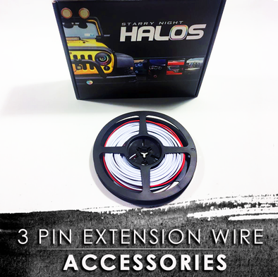 3 Pin Extension Wire