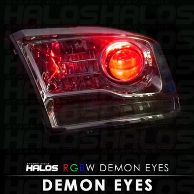 Starry Night Halos RGBW Demon Eyes