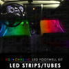 RGB + Chasing LED Footwell Kit