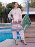2 Piece Unstitched Printed Lawn Shirt with Dyed Trouser RKL-1097
