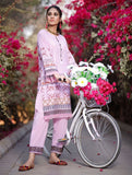 2 Piece Unstitched Printed Lawn Shirt with Dyed Trouser RKL-1099
