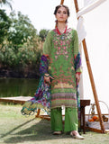 3 Piece Unstitched Printed Lawn Suit with Chiffon Dupatta KCE-6039