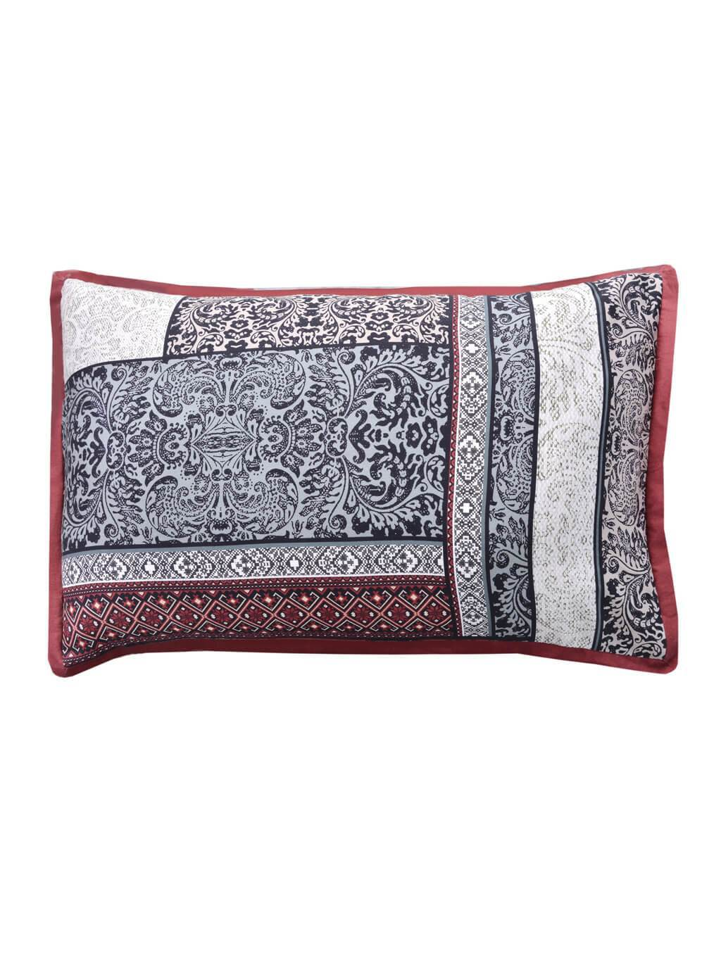 Ancient Patch Pillow Cover Luxury Bedding HOMBEDGOL