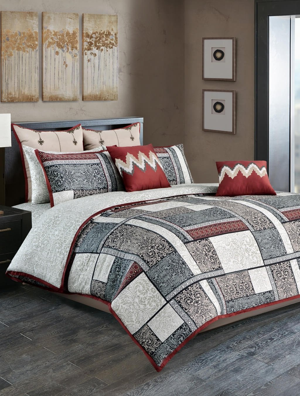 Ancient Patch Quilt Cover Luxury Bedding HOMBEDGOL