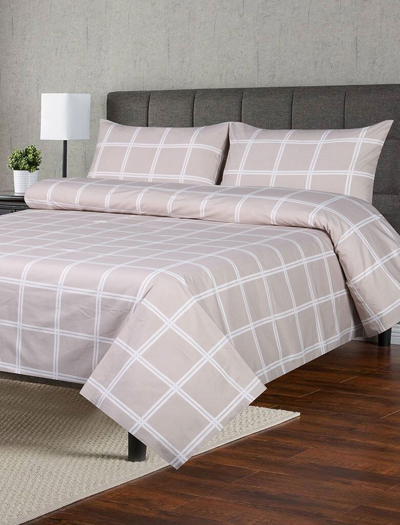 BED SHEET R2G 16103 Printed Range 144 TC HOMBEDROO