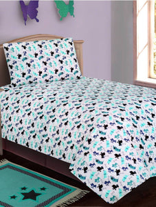 BED SHEET R2G 16177 SINGLE Printed Range 144 TC HOMBEDROO