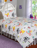 BED SHEET R2G 17013 SINGLE Printed Range 144 TC HOMBEDROO